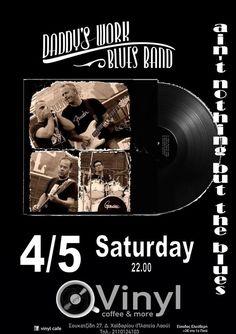 Rhythmic Horizons: Daddy's Work Live at Vinyl Cafe Vinyl Cafe, Working Blue, Blue Band, T 4, Blues, Daddy, Live, Music, Musica