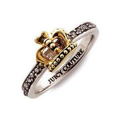 juicy ring $29.95. A certain someone better be getting me this AS SOON as I send the pic haha
