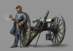 artillery captain by Skvor.deviantart.com on @DeviantArt