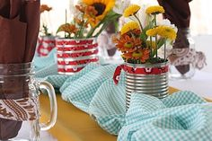Western-themed baby shower