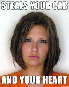 mugshots of hot people