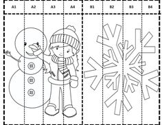 Paper Crafts For Kids, Fun Crafts, Coloring Pages For Kids, Coloring Books, Donut Coloring Page, Kids Christmas, Christmas Crafts, Ramadan Crafts, Pinterest Crafts
