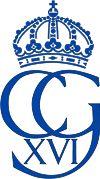 Royal Monogram of His Majesty King Carl XVI Gustaf of Sweden