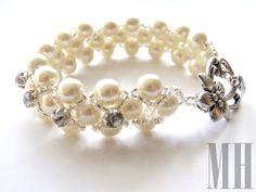Perły i cyrkonie | MH Biżuteria - cuda ręcznie wykonane