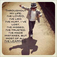 Still learning....