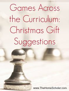 Here are my Christmas Gift suggestions for board games and other activites for homeschoolers that can also be used as curriculum during the school year.
