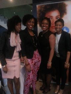 Bloggers at Divas of Colour 2014 with AfroDeity