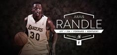 Los Angeles Lakers Julius Randle @J30_Randle