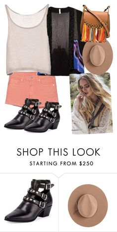 """""""hippie"""" by unasegundapiel ❤ liked on Polyvore featuring Yves Saint Laurent, Satya Twena and Chloé"""