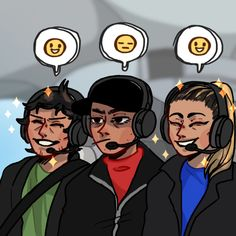 the happy Josh, the soft Jenna, and the tough stoic unimpressed guy on a helicopter ride Tyler Joseph, Tyler And Josh, Josh Dun, Emo Bands, Music Bands, Clique Art, Twenty One Pilots Art, I Hate My Life, Screamo