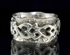 Om Spinner Ring - 925 Sterling Silver Meditation Japa Spinner Ring on Etsy, $48.23