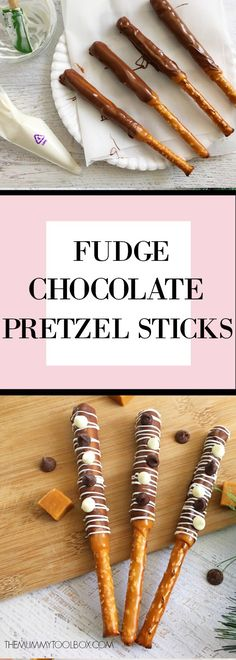 These fudge chocolate pretzel sticks are the perfect entertaining snack that will be a hit among adults and kids alike, try this delicious recipe. Perfect Food, Perfect Party, Chocolate Pretzel Rods, Low Carb Breakfast Easy, Recipe Cover, Pretzel Sticks, Health And Fitness Tips, Sweet And Salty, Party Snacks