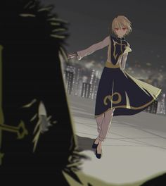 Kurapika and Chrollo     ~Hunter X Hunter