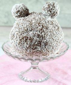 Chokladbollstårta med öron – Lindas Bakskola