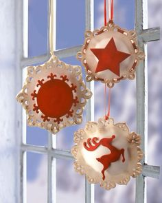 CHRISTMAS HANGERS MADE OF FOAM RUBBER