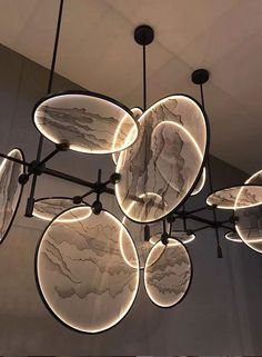 How Can Ike Suspension Lamp Give You Jazz And Soul Vibes? How Can Ike Suspension Lamp Give You Jazz And Soul Vibes?,Lightlampcycle How To Rock The Perfect Suspension Lamp? Check Your Answer Here! Deco Luminaire, Luminaire Design, Deco Led, Ceiling Chandelier, Circular Chandelier, Decoration Design, Lampe Decoration, Cool Lighting, Lighting Stores