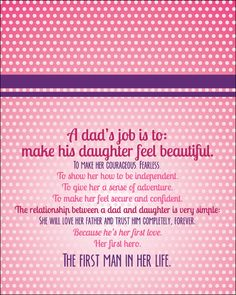 father/daughter quote. #byjwish