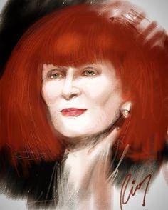 STUDIO LRCR - Au Revoir Madame Rykiel!  #fineart #art...