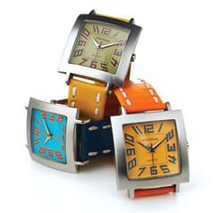 """""""The big numbers make these watches easy to read; the fabulous colors make them fun to wear."""" — Oprah"""