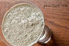 Brown rice protein or any protein chia pudding