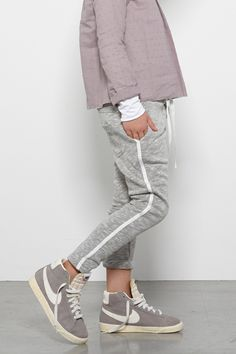 grey casualwear