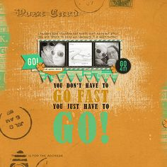 Just Go! - Scrapbook.com