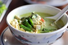 Crockpot Thai Green Curry Chicken | Slender Kitchen