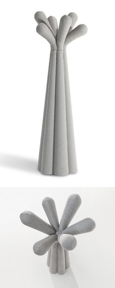 ANEMONE - Fabric coat stand Coat Stands, Design Products, Symbols, Fabric, Hangers, Tejido, Clothes Racks, Icons, Fabrics