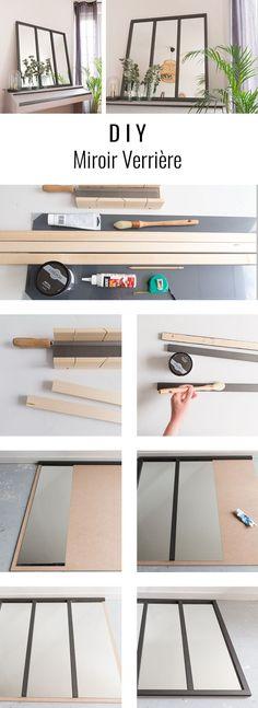 DIY miroir verriere - Home Decor - Home Decor
