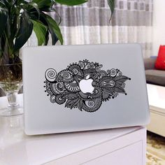 Macbook decals/Art Painting Flowers/macbook pro stickers/Mac Decal/Mac Sticker for Apple Laptop/Macbook Pro Air/iPad Air Mini