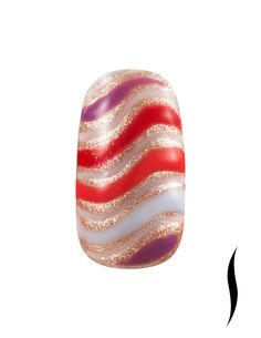 Nail look designed by Terri Silacci, exclusively for Sephora. #nailspotting #Sephora #beauty #SephoraOPI