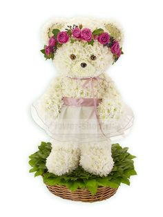 Композиция «Мишка-невеста»