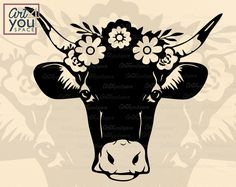 Funny svg files and unique vinyl decals by on Etsy Cow Tattoo, Cow Logo, Cow Face, Cow Head, Cute Cows, Cow Skull, Animal Wallpaper, Farm Animals, Funny Animals