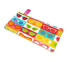 Sunglasses Pouch- Summer Vacation - Sunnies - Eyeglasses Case