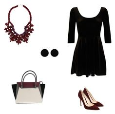Pinot Noir by ashley-romanow on Polyvore featuring polyvore, fashion, style, Vince Camuto, Ek Thongprasert, AeraVida and clothing