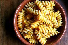 Pasta with Butternut Squash Sauce