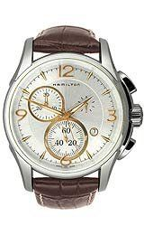 Hamilton Men's H32612555 Jazzmaster Chronograph Silver Dial Watch Hamilton. $523.25. Stainless-steel case. Quartz movement. Durable mineral crystal. Case diameter: 42 mm. Water-resistant to 330 feet (100 M). Save 30% Off!