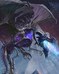 Undead Dragon Levels 1 to 4 Red Pencil Art Dnd Dragons, Cool Dragons, Dungeons And Dragons, Dragon Images, Dragon Pictures, Fantasy Monster, Monster Art, Creature Concept Art, Creature Design