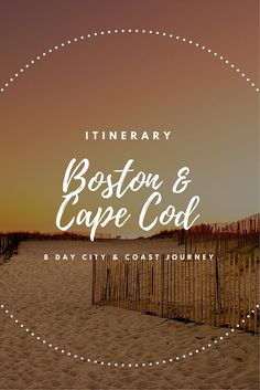 This #Boston and #CapeCod itinerary delivers the best of both worlds: rich, complex history of a big city and laid-back coastal living with breathtaking beaches and wetlands.