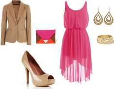 """pink"" by sophiemcentee on Polyvore"