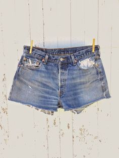 8460fe284f Vintage Levis 501 shrink to fit high waist cut off shorts. Actual  measurements Waist 32