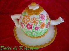 Tutorial torta teiera