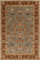This collection features a series of traditional Persian designs reflecting the colors and patterns of our time. Hand-tufted in India, each rug is produced from the finest New Zealand wool. The unique luster and antique finish on these rugs is achieved through special herbal washing techniques. Sample rugs are non-returnable. However, if you purchase a sample and then subsequently buy a 5' x 8' or larger rug from the same collection, we will credit you for the full purchase price of the…