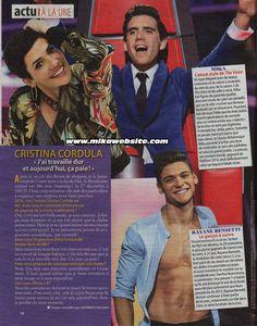 Mika fait la Une du magazine - Télé 2 semaines French