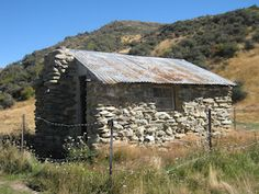 St Bathans, Central Otago Stone Cabin, Central Otago, New Zealand Landscape, South Island, Old Buildings, What Is Like, Origins, Road Trips, Old Houses