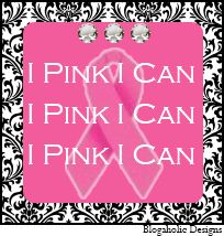 10 Free Breast Cancer Slogan Blog Buttons - Blogaholic Designs - Custom Blog Design, Premade Blog Templates, Blog Freebies