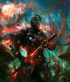 Blood Moon by Re-dye on DeviantArt
