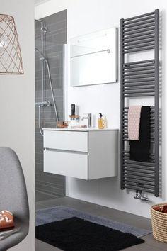 Scandinavisch design in de badkamer ♡ | Scandinavische badkamer ...