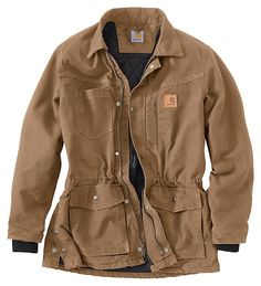 Carhartt® Sandstone Rancher Coat for Men | Bass Pro Shops