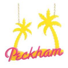 Peckham Jewels Palm Tree Necklace